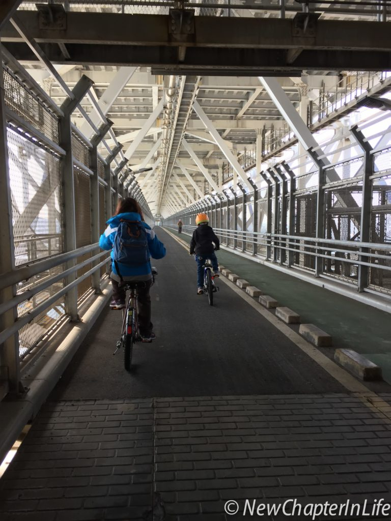 Shimanami Kaido - Innoshima Bridge (1270 Meters in length) - Cycle/Pedestrian Deck